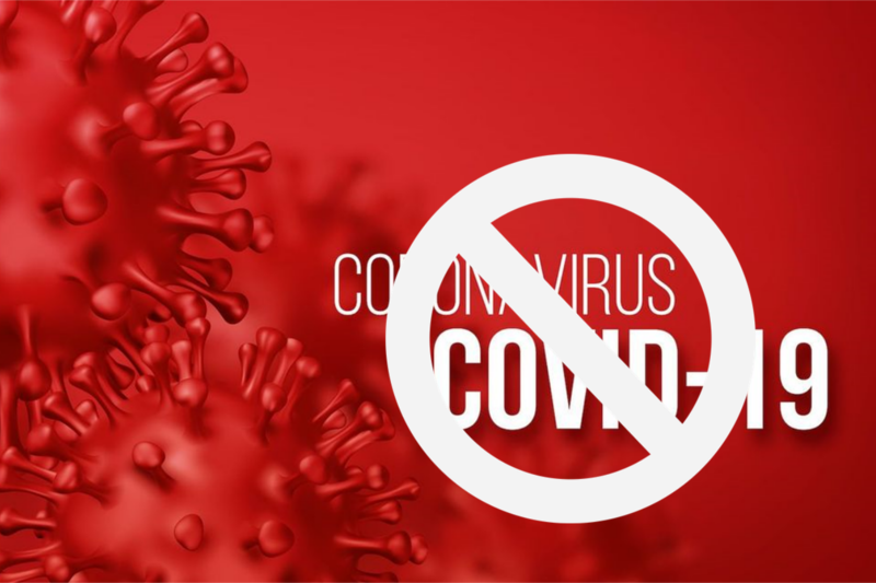A poster to prevent the spread of Novel Corona virus