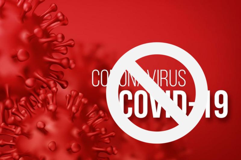 신형 코로나 바이러스의 감염 확대 방지 포스터