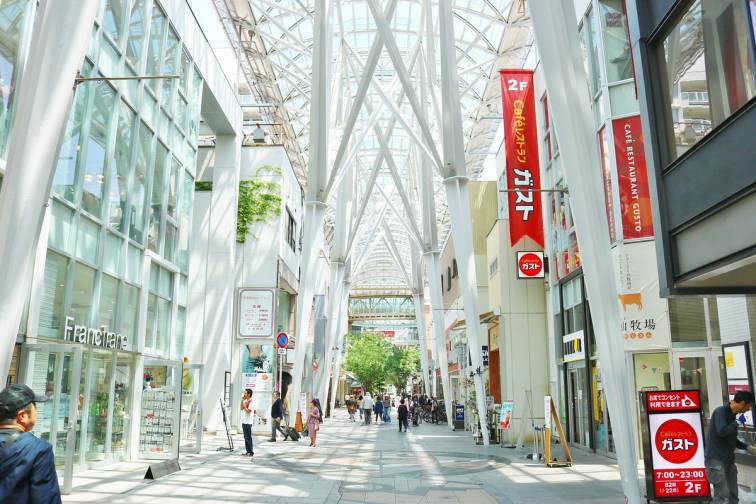Takamatsu Central Shopping Area|高松中央商店街