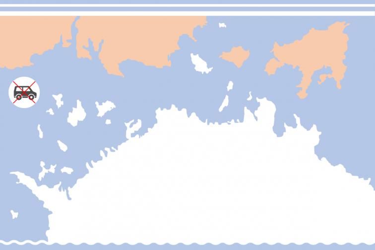 Hi-speed Ferry|Tonosho (Shodoshima) -Karato (Teshima) - Ieura (Teshima) - Uno (Okayama)