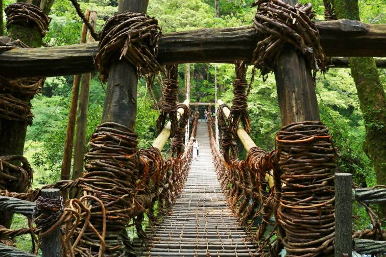 Iya-no-Kazura-bashi|祖谷のかずら橋