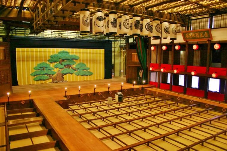 구 콘피라 대극장(카나마루자)|金丸座