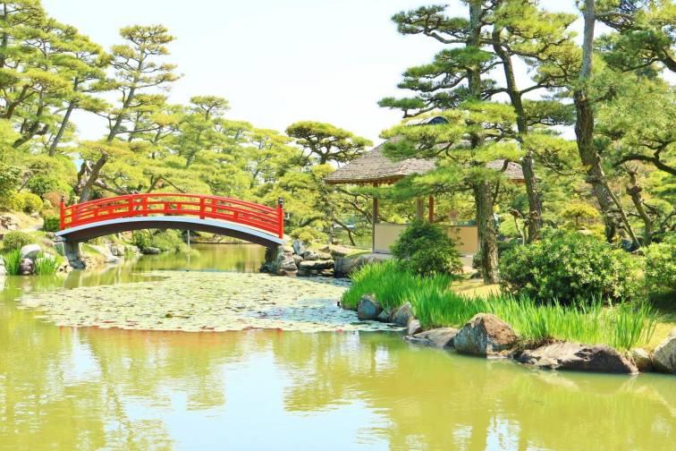 나카츠반쇼엔 정원 中津万象園