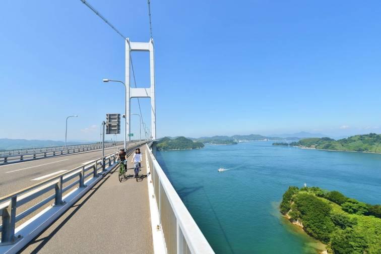 岛波海道上的自行车放纵之旅