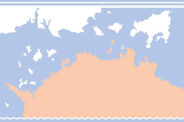渡轮 高松 - 女木岛 - 男木岛