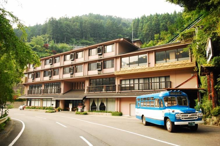 新祖谷温泉酒店蔓桥