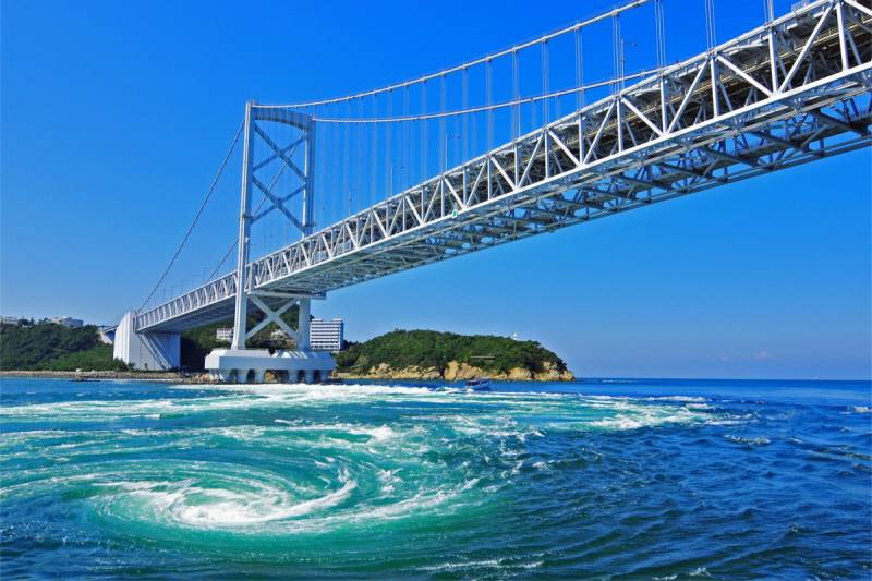 Departure from Takamatsu! Naruto whirlpools view Tour